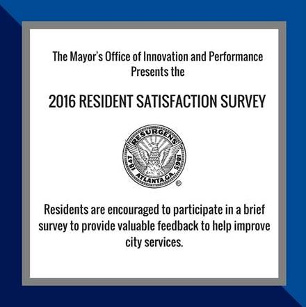 2016 Resident Satisfaction Survey
