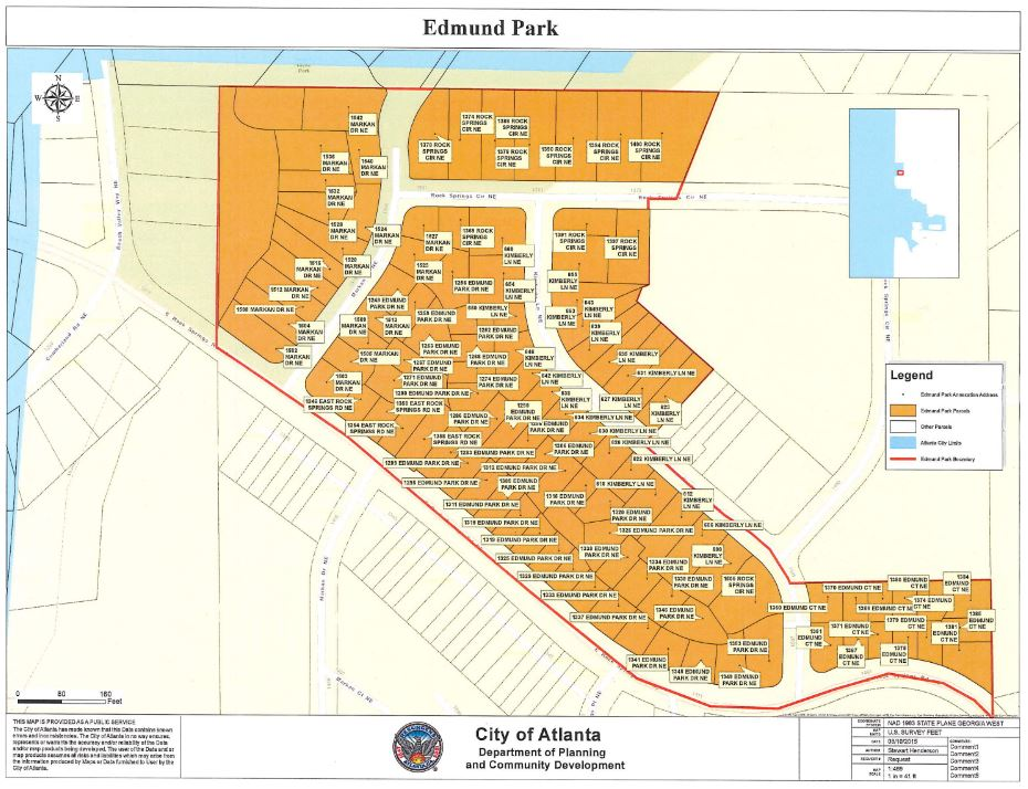 Edmund Park Annexation Map