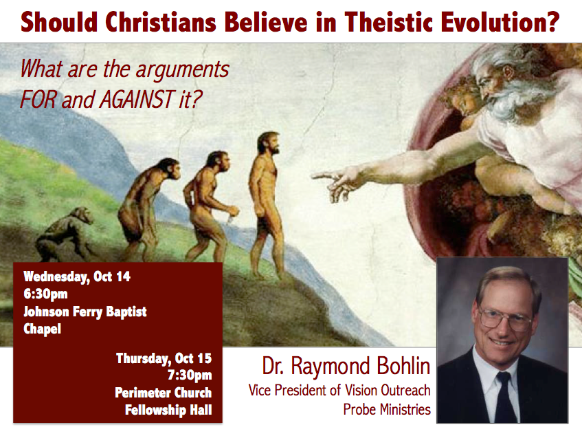 October Forum on Theistic Evolution