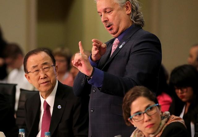 Ban Ki-moon, Colin Allen, Catalina Devandas Aguilar