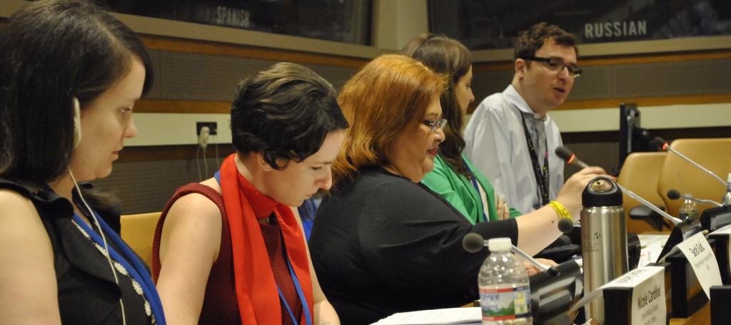Civil Society representatives panel discusison