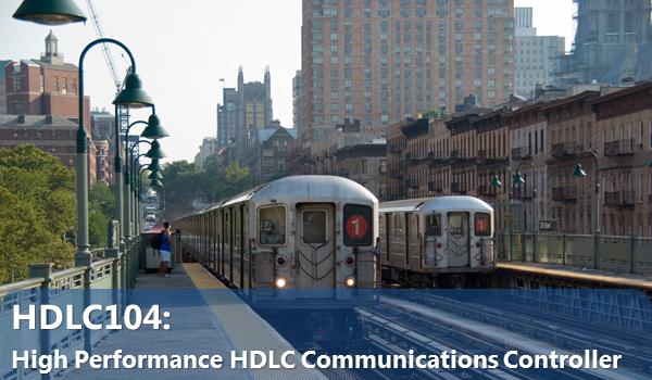 HDLC104- High Performance HDLC Communications Controller
