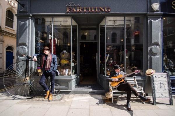 Thomas Farthing Menswear
