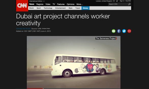 Dubai art project channels worker creativity: Restart The Art on CNN