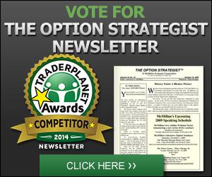 Vote For The Option Strategist Newsletter
