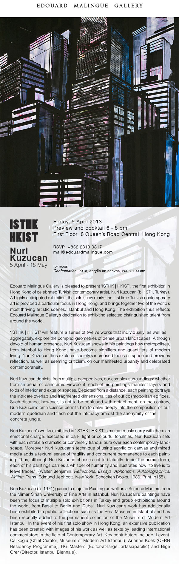 Nuri Kuzucan ISTHK | HKIST Preview - April 5