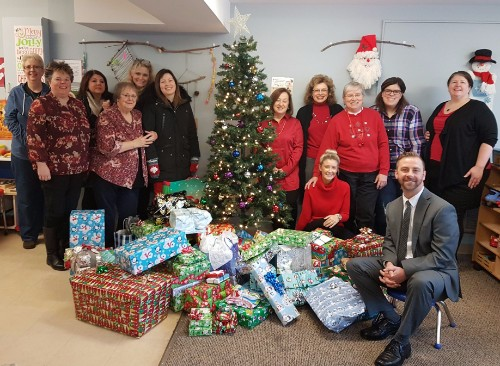 Meridian Provides Gifts for Children