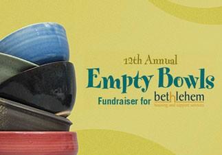 12th Annual Empty Bowls Fundraiser