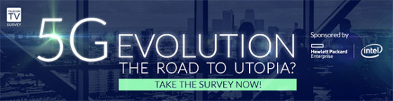 TelecomTV Survey: 5G EVOLUTION - The road to Utopia