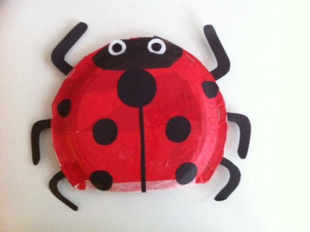 ladybird puppet