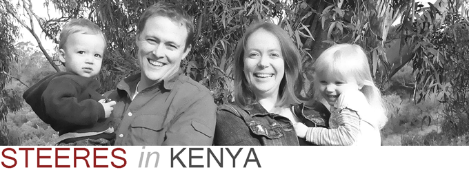 Steeres in Kenya