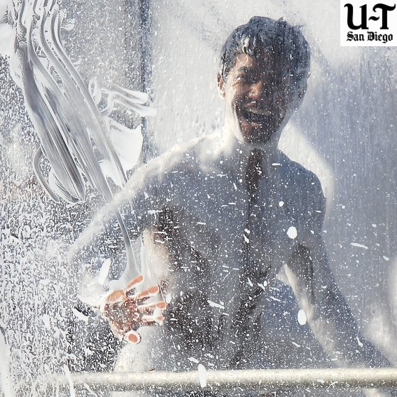 soapy human in the All-One Ark