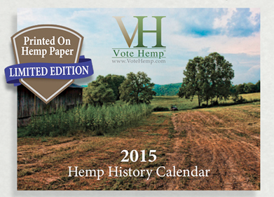 Hemp History Calendar