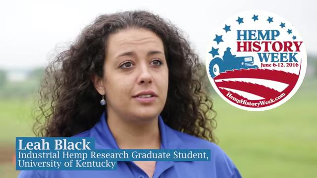 U of KY student talks hemp