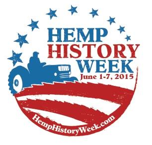 Hemp History Week 2015 logo