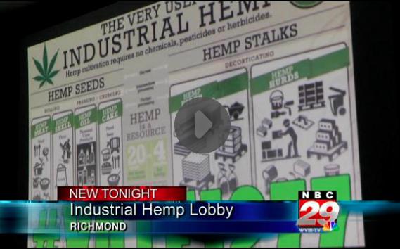 NBC coverage of industrial hemp