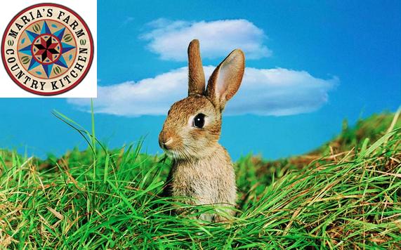 Bunny and Maria's Farm Country Kitchen Logo