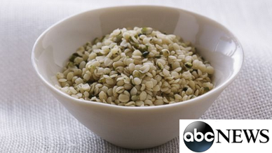 bowl of hempseed