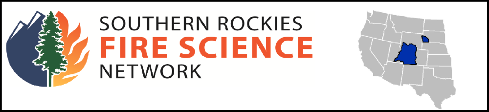 Logo: Southern Rockies Fire Science Network
