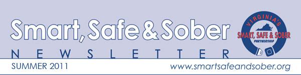 Smart, Safe & Sober Newsletter - Summer 2011