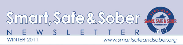 Smart, Safe & Sober Newsletter - Winter 2011