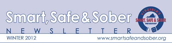Smart, Safe & Sober Newsletter - Winter 2012