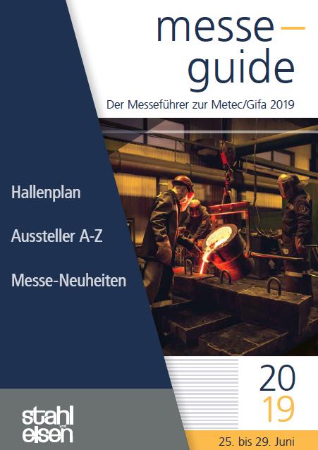 Der Messeführer zur Metec/Gifa 2019