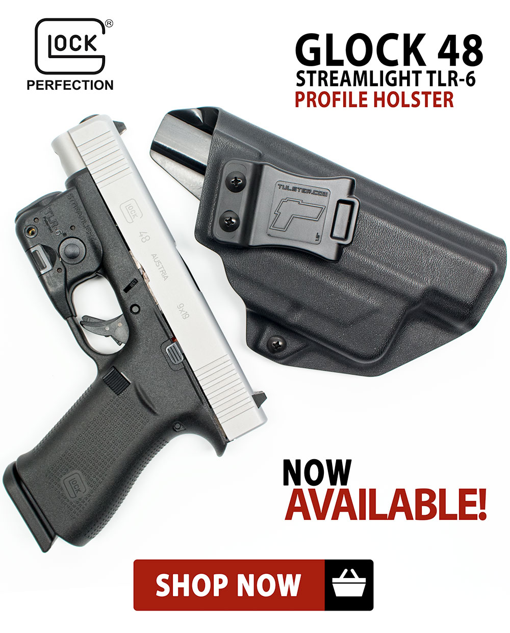 Glock 48 w/TLR-6 Profile Holster are available.