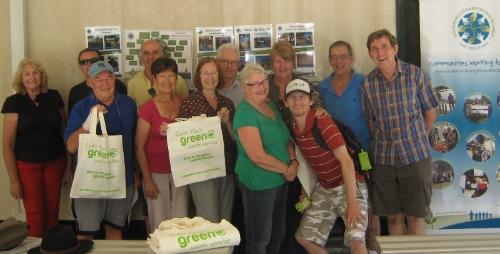 Image of Sustainable Neighbourhood volunteers at celebration