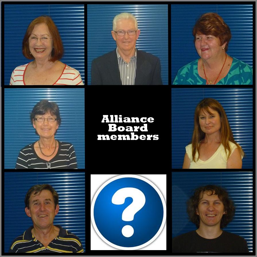 Brady bunch image of Alliance Board Members