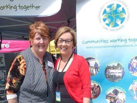 Image of Dot Seiffert and Mayor Jodie Harrison