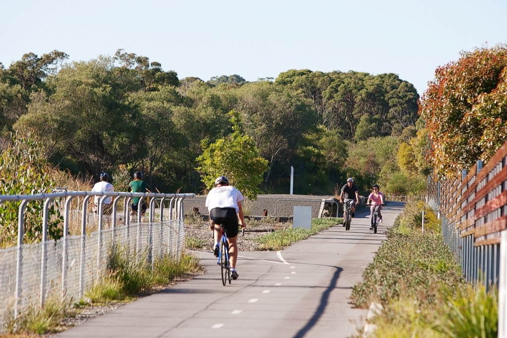 Image of cyclists
