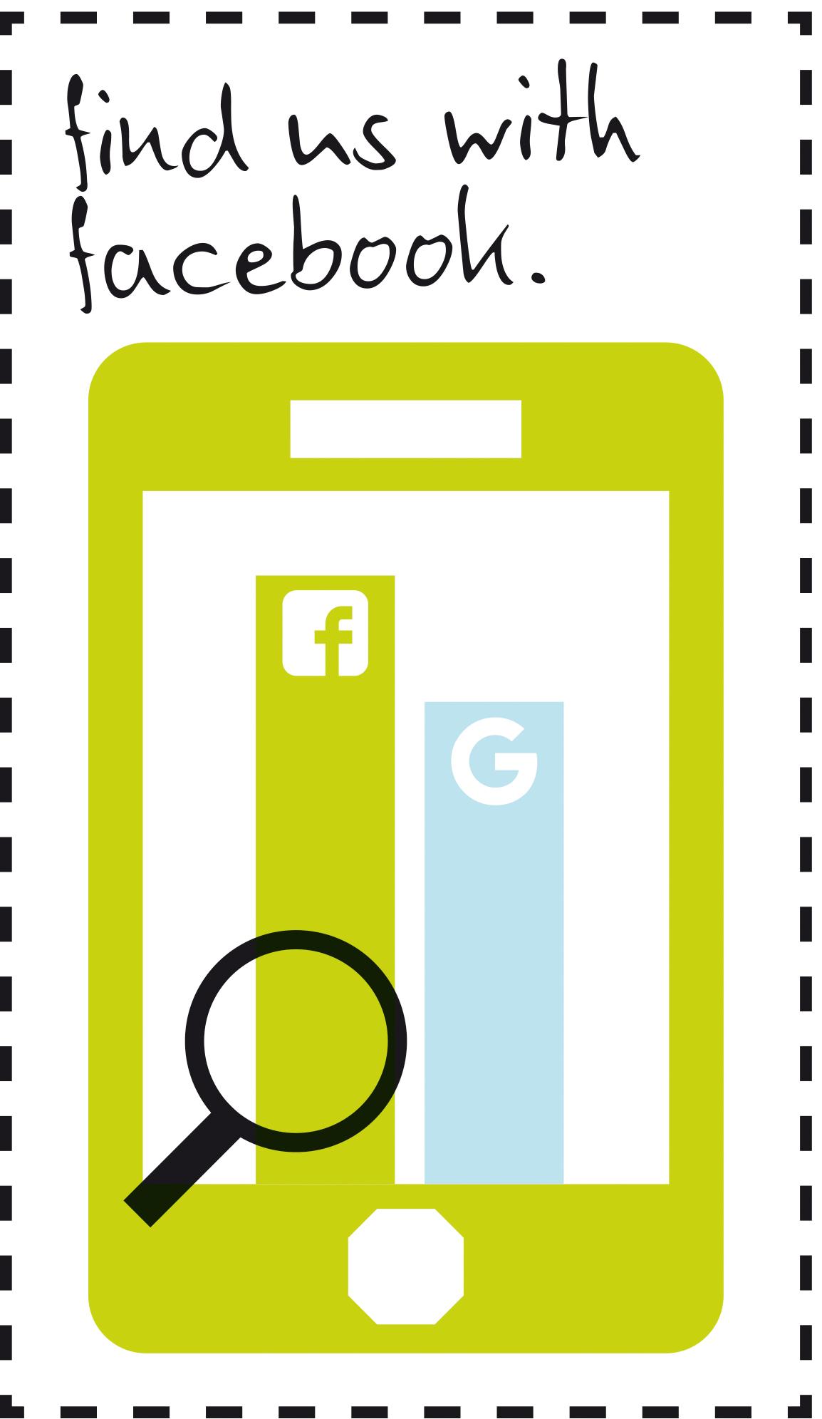 Facebook vor Google: Statistik-Illustration