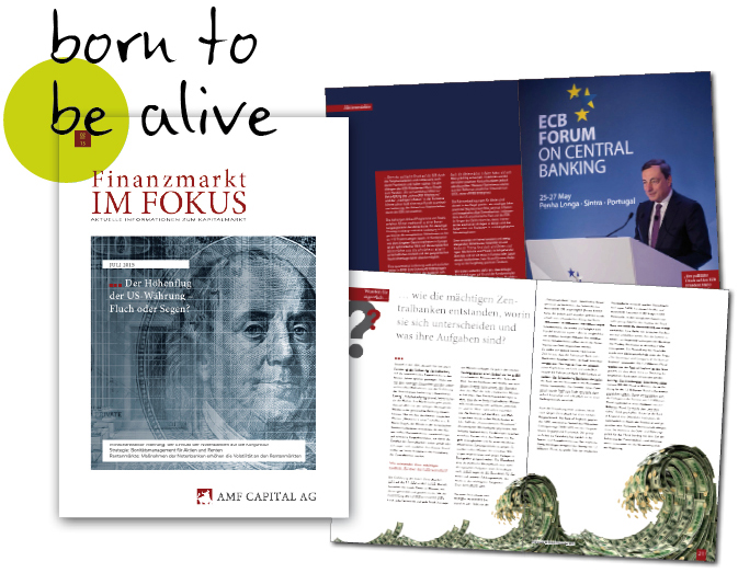 """Abbildungen des Magazins """"Finanzmarkt im Fokus"""""""