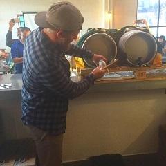 Sean Doolittle taps Fieldwork Brewing charity keg for Swords to Plowshares fundraiser