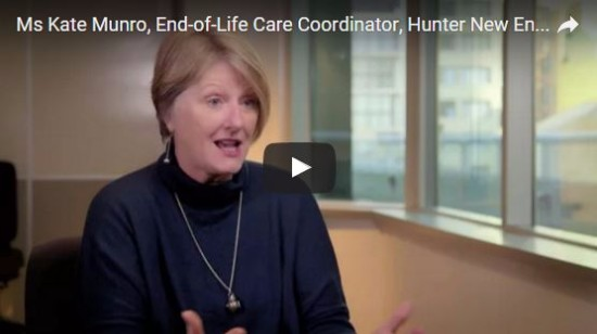 Ms Kate Munro, End-of-Life Care Coordinator, Hunter New England Health District shares a patient's story about recognising end-of-life