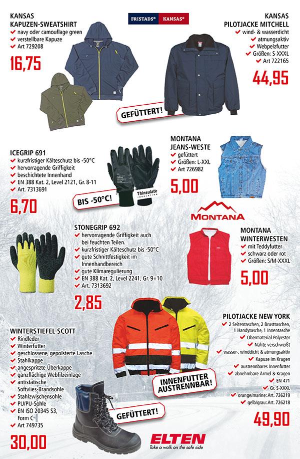 Bekleidungs-Tipps für kalte Tage von GEORG!