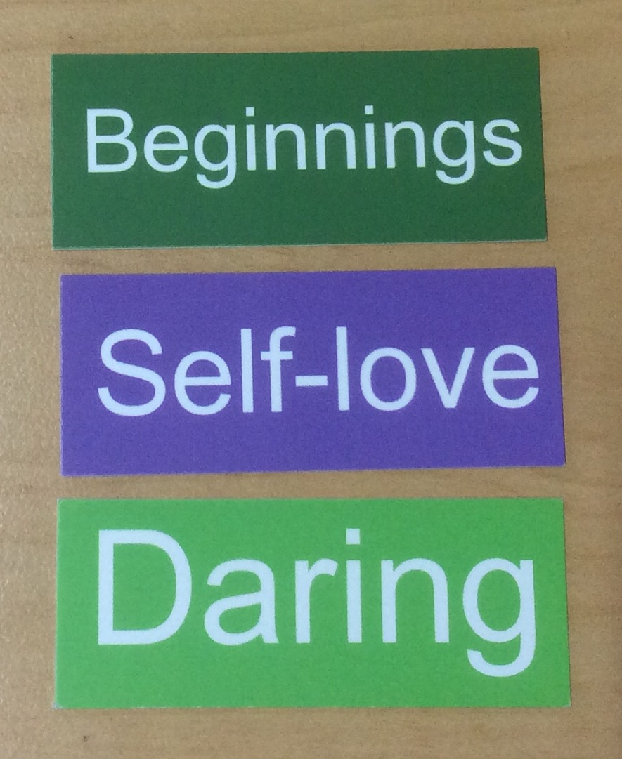 Beginnings Self-care Daring