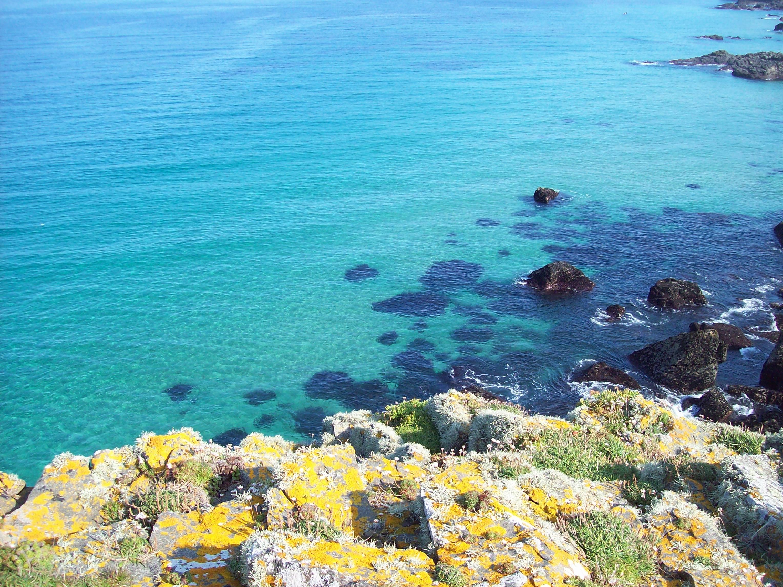 Calm summer seas