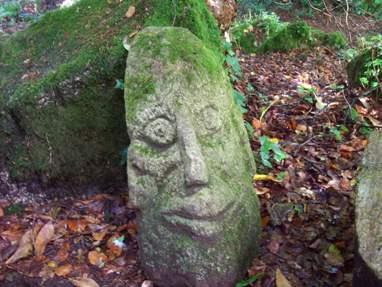 Trevarno stone face