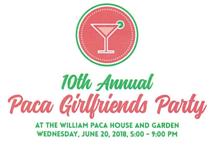 Save the date: 10th Paca Girlfriends Party is scheduled for June 20th