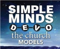 Visit our tour page for dates with Simple Minds/Devo/Models