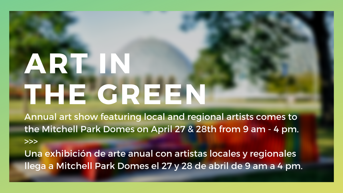 Art in the Green: April 27 & 28