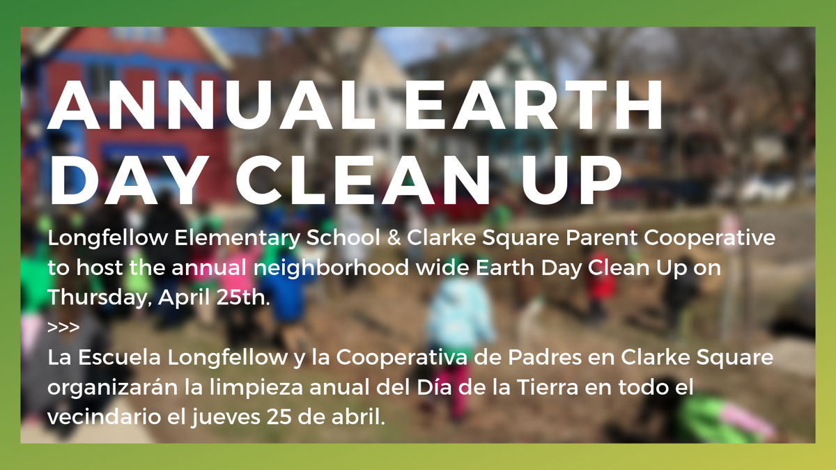 Earth Day Clean Up: April 25