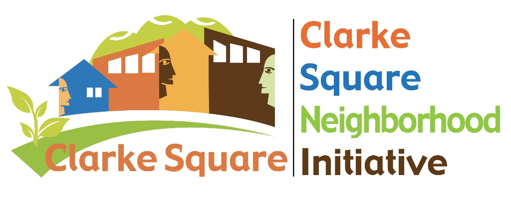 [Clarke Square's AWESOME logo]