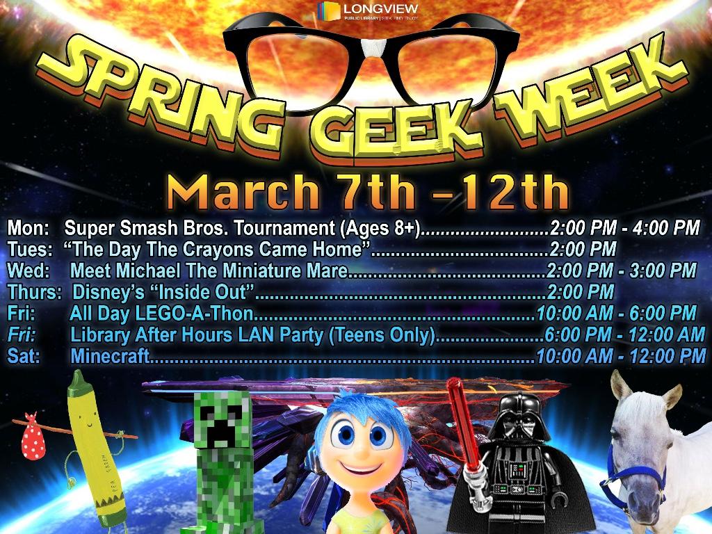 Spring Geek Week