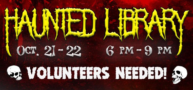 Haunted Library Volunteers