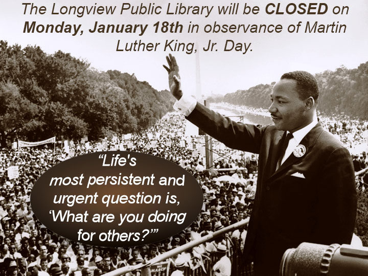 Martin Luther King, Jr. Day 2016