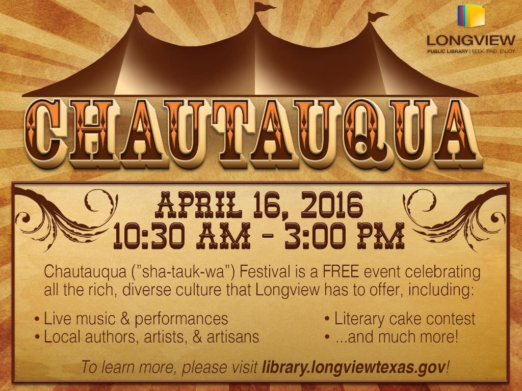 Chautauqua Festival 2016