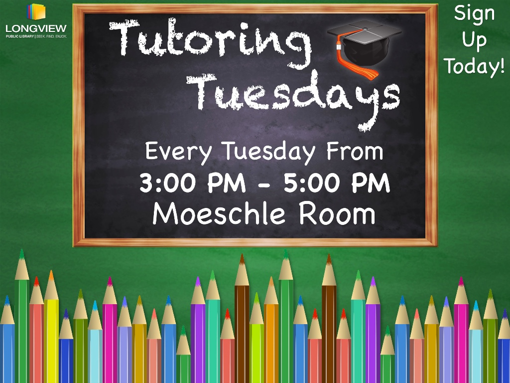 Tutoring Tuesdays